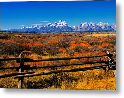 Down In The Valley Metal Print by Greg Norrell