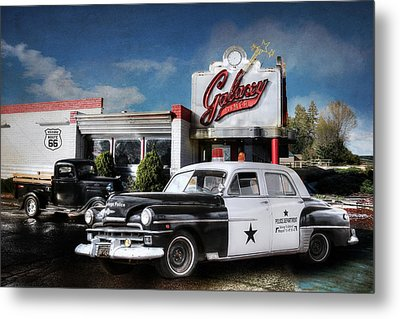 Down Memory Lane Metal Print by Lori Deiter