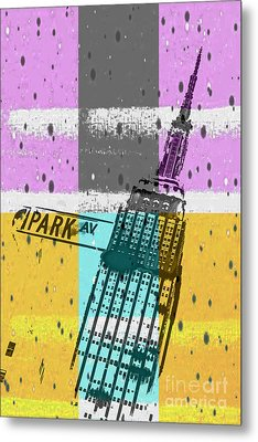 Down Park Av Metal Print by Az Jackson