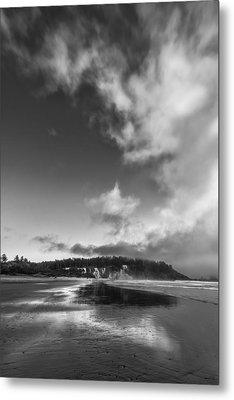 Down The Beach Metal Print by Jon Glaser
