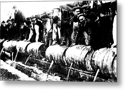 Down The Drain Metal Print by Bill Cannon