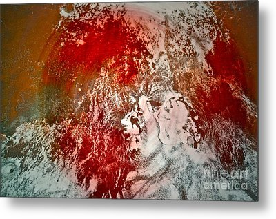 Down The Drain Metal Print by Gwyn Newcombe