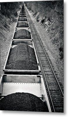 Down The Line Metal Print by Jessica Brawley