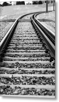 Down The Line Metal Print by John McArthur