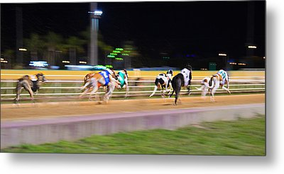Down The Track Metal Print by Keith Armstrong