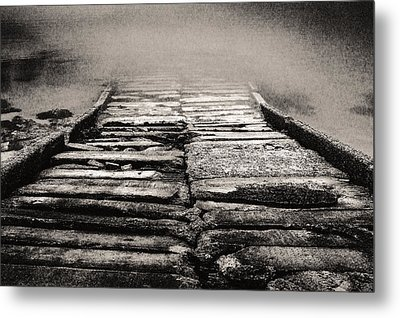 Metal Print featuring the photograph Down To The Water by Arkady Kunysz