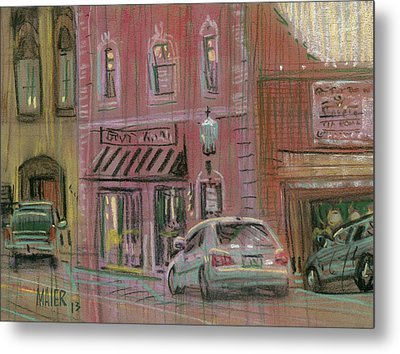 Downtown Acworth Metal Print by Donald Maier