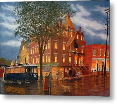 Downtown Bristol Metal Print