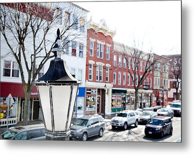 Metal Print featuring the photograph Downtown Brockport I by Courtney Webster