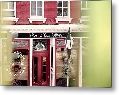 Metal Print featuring the photograph Downtown Brockport II by Courtney Webster