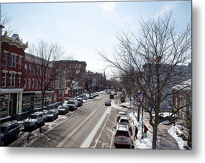 Metal Print featuring the photograph Downtown Brockport IIi by Courtney Webster