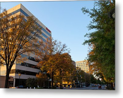 Downtown Chattanooga Metal Print by Melinda Fawver