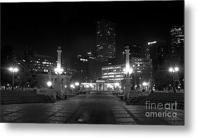 Downtown Denver Metal Print
