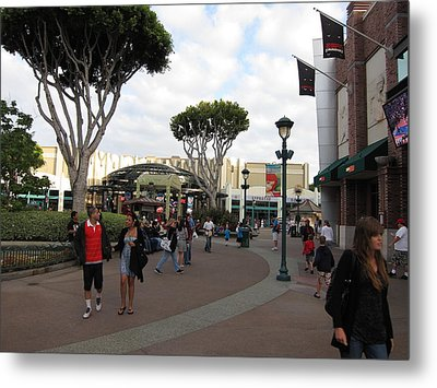 Downtown Disney Anaheim - 12122 Metal Print by DC Photographer