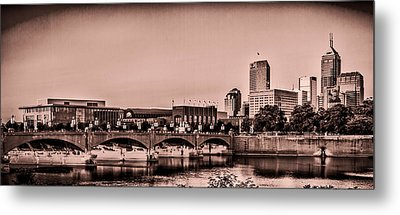 Downtown Indianapolis Metal Print