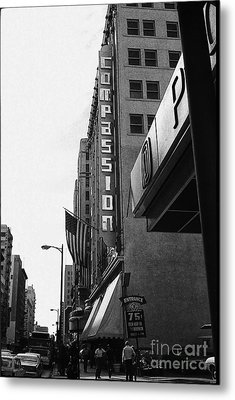 Metal Print featuring the photograph Downtown La - Mid '70's by Doc Braham