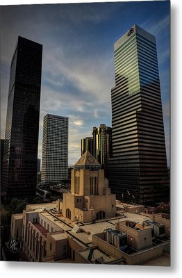 Downtown Los Angeles 004 Metal Print by Lance Vaughn