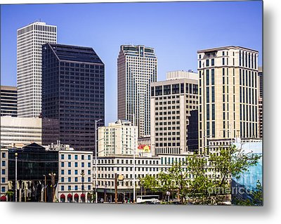 Downtown New Orleans Buildings Metal Print