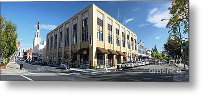Downtown Pomona Metal Print by Gregory Dyer