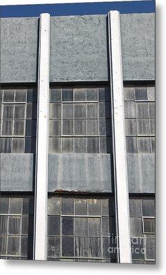 Downtown Pomona Windows Metal Print by Gregory Dyer