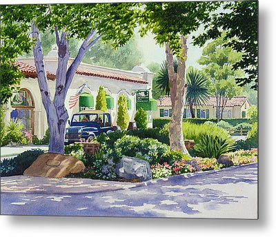 Downtown Rancho Santa Fe Metal Print