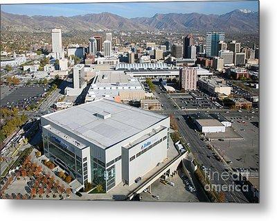 Downtown Salt Lake City Metal Print by Bill Cobb