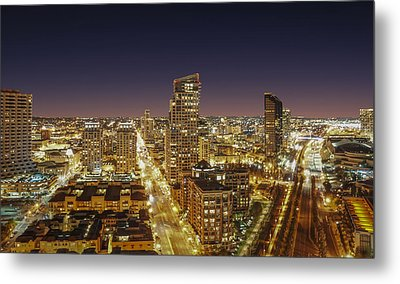 Metal Print featuring the photograph Downtown San Diego by Alex Weinstein