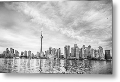 Metal Print featuring the photograph Downtown Toronto Skyline by Anthony Rego