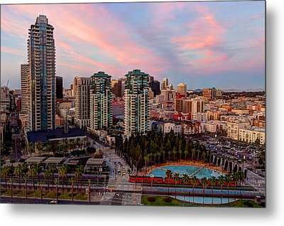 Metal Print featuring the photograph Downtown View San Diego by Heidi Smith