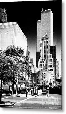 Downtown Views 1990s Metal Print by John Rizzuto