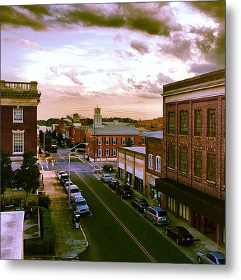 Downtown Washington Nc Metal Print