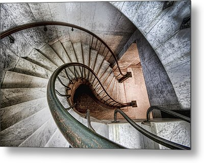 Metal Print featuring the photograph Downward Spiral by Brent Durken