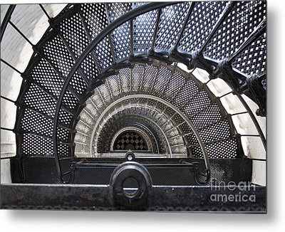Downward Spiral Metal Print