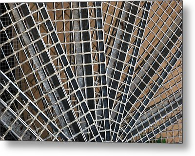 Downward Spiral Metal Print by Wendy Wilton