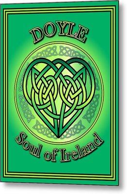 Doyle Soul Of Ireland Metal Print