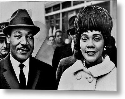 Dr And Mrs King Metal Print by Benjamin Yeager