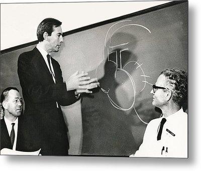 Dr. Christiaan Barnard Metal Print by Underwood Archives