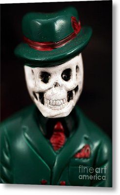 Dr. Death Metal Print by John Rizzuto