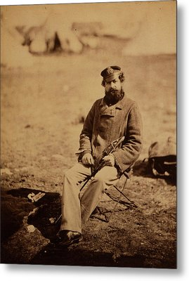 Dr. Marlow, 28th Regiment, Crimean War, 1853-1856 Metal Print