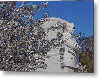 Dr Martin Luther King Jr Memorial Metal Print by Susan Candelario