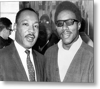 Dr. Martin Luther King Metal Print by Underwood Archives