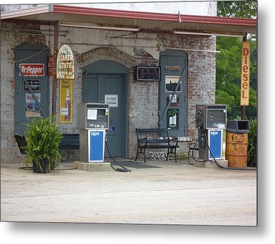 Metal Print featuring the photograph Dr Pepper Diesel  Musella  by Douglas Fromm
