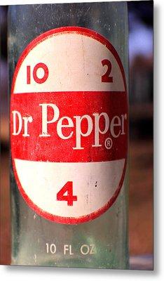 Dr. Pepper  Metal Print by Jon Baldwin  Art