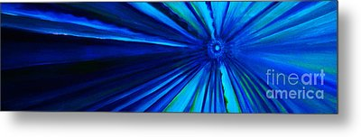 Dr Who Vortex Metal Print