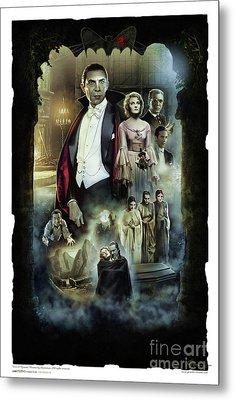 Dracula 1931 Metal Print by Gerardo Moreno