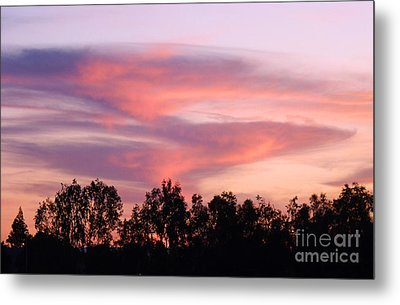 Metal Print featuring the photograph Dragon Clouds by Meghan at FireBonnet Art