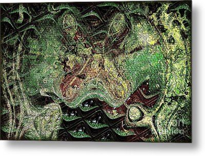 Metal Print featuring the photograph Dragon Dream by Kathie Chicoine