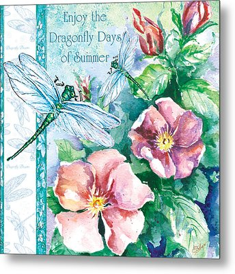 Dragonfly Days Metal Print