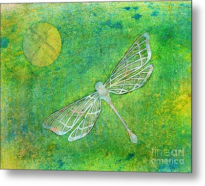 Dragonfly Metal Print by Desiree Paquette