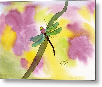 Dragonfly Dream Metal Print